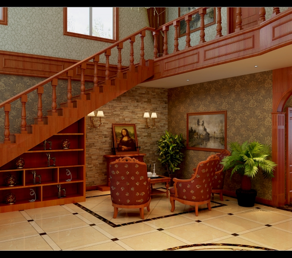 现代与艺术融合的欧式别墅设计效果