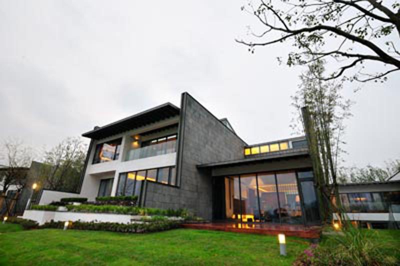中式风格别墅外观设计效果