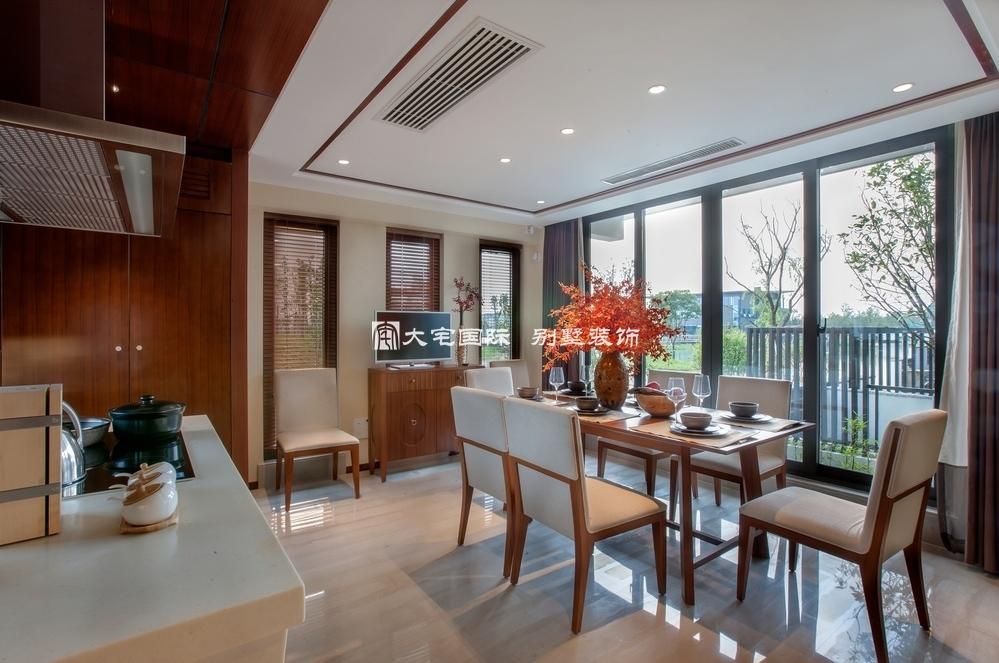 东南亚风格别墅餐厅设计-350平米东南亚风格别墅设计