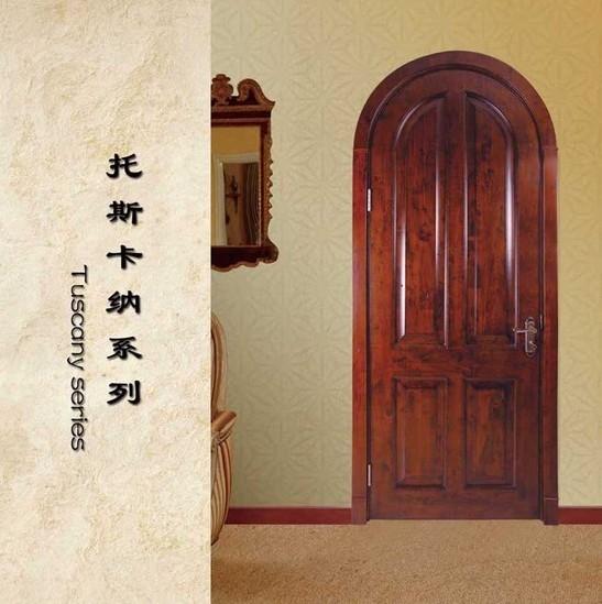 别墅欧式房间门