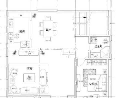 农村别墅设计图平面图
