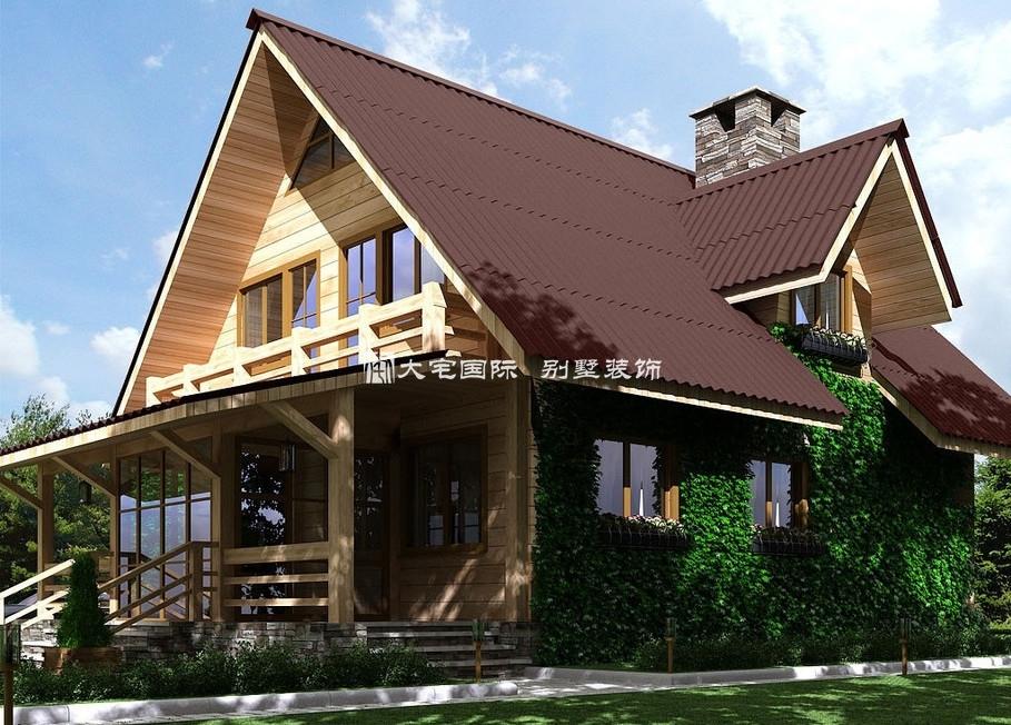 一层别墅设计图----[大宅国际](图文)