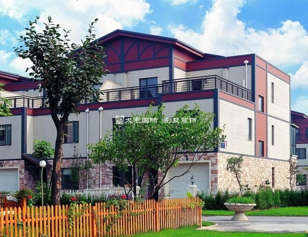 农村二层别墅设计图之外观
