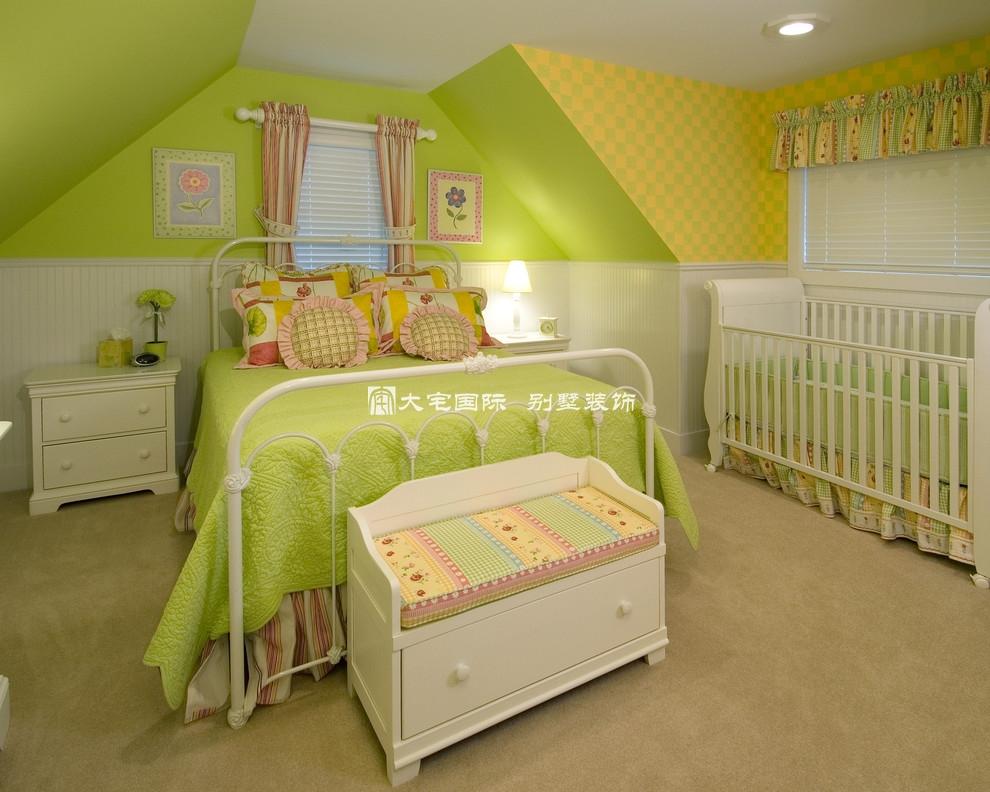 别墅装修设计之儿童卧室设计----[大宅国际](图文)