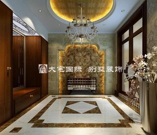 奢华别墅景观设计彰显欧式新贵风范----[大宅国际]()