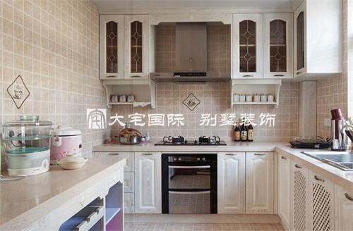 别墅厨房设计效果图