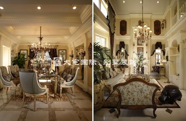 欧式经典 别墅景观设计平面图中展现的创新装修理念
