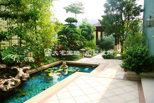 别墅庭院的景观园林装修设计小结----[大宅国际]