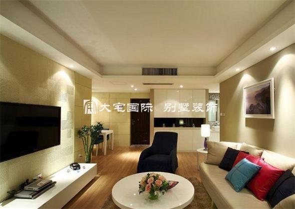 小戶型別墅客廳裝修效果圖欣賞