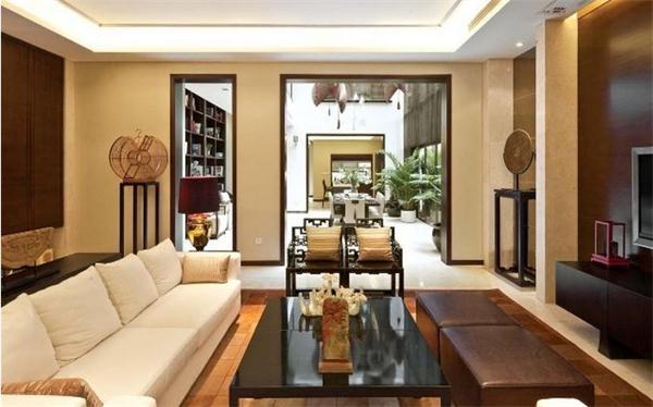 别墅客厅设计图片引用欣赏-四合院别墅设计图与私人别墅设计的区别