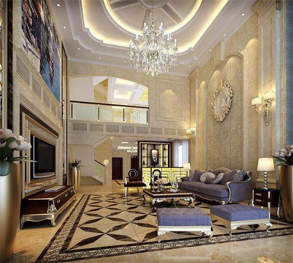 欧式风格别墅设计,造型上不同于中式建筑风格,多采用几何图案用在园林和建筑的造型和装修设计上。比如在部分模仿文艺复兴时期的罗马柱就是采用圆柱形的几何图案,同时在欧式风格别墅装修庭院中,针叶数目又是也被修剪成圆柱形,或者圆锥形,甚至是被修剪成螺旋型上升。显出了欧式经典别墅园林设计浓浓的几何氛围。以及独特的园林构型。