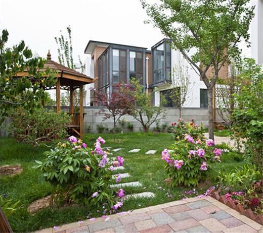 别墅花园设计效果图究竟会让你的花园变成什么样?_大