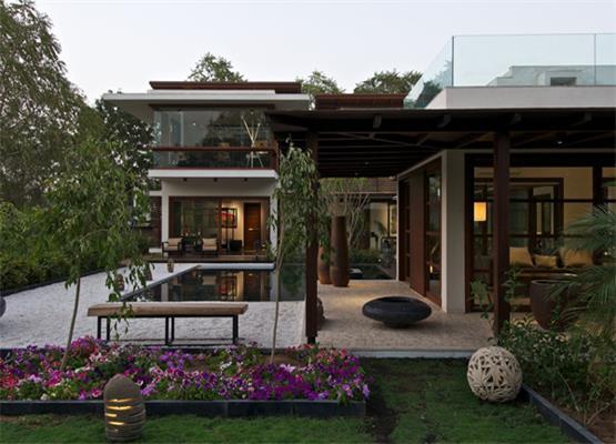 赏析欧式复古经典别墅庭院设计之美----[大宅国际]