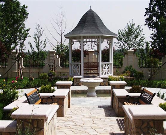 别墅庭院设计,欧式风格注重文化展现