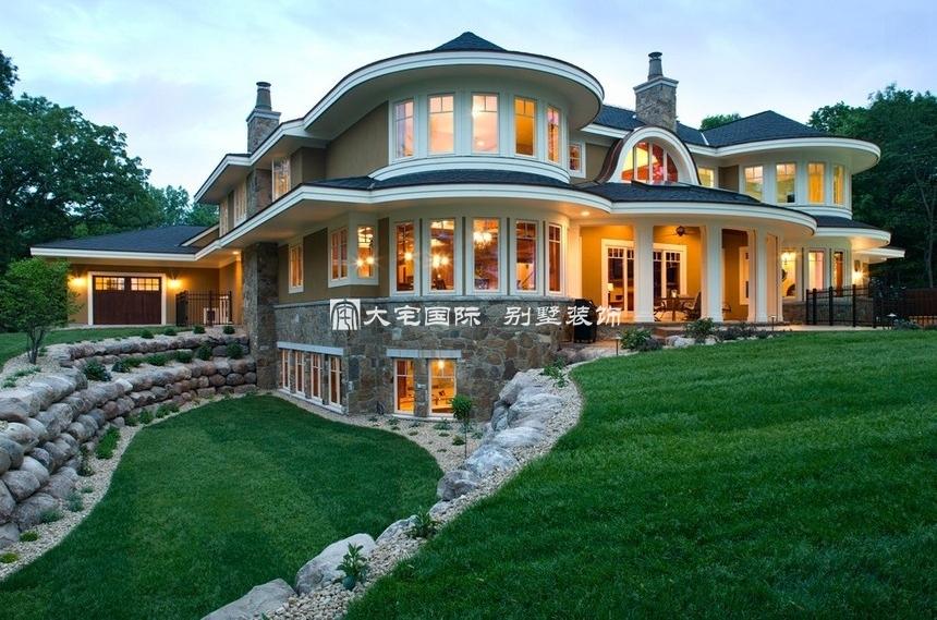 欧式建筑风格作为,乡村别墅设计主题时要特别注意
