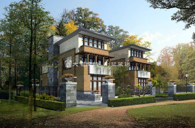 浅析高端别墅设计整体思路----[大宅国际](图文)
