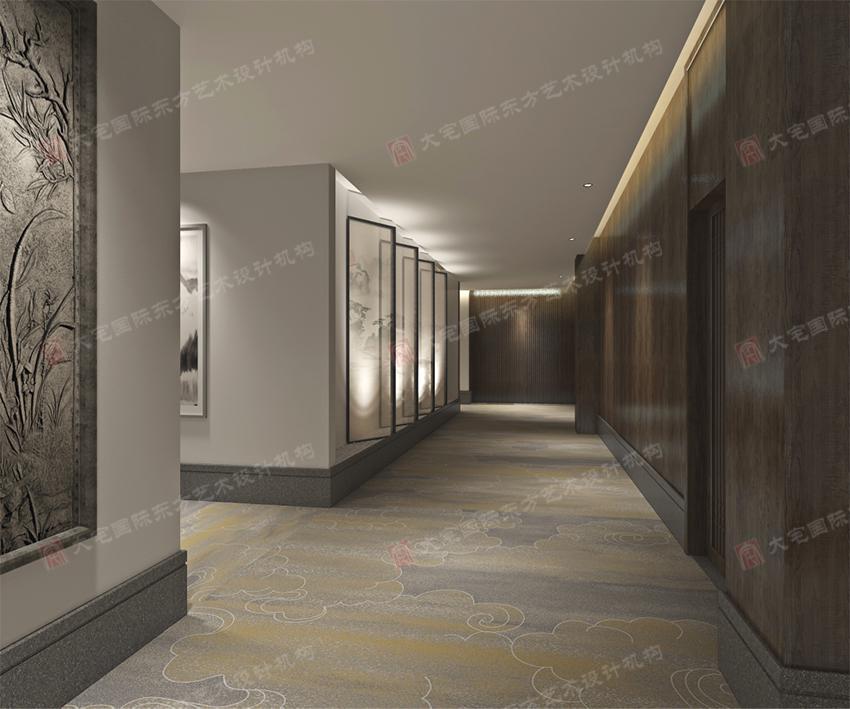 八窗玲珑 体味别有天地的中式酒店设计图片